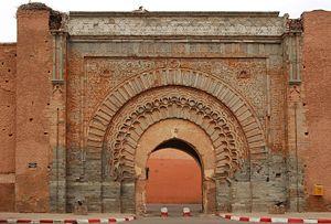 Porte Bab Agnaou Marrakech Maroc