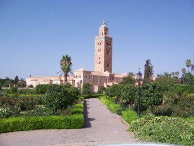 Koutoubia de Marrakech Maroc